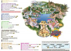 Universal islands of adventure map from tripsavvy 7