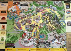 Universal studios california map from br 3