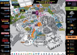 Universal Studios Hollywood Map 2020: Universal studios hollywood map 2020 from hollywood 2