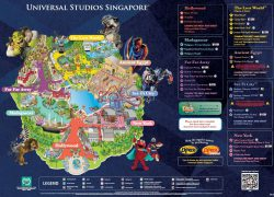 Universal Studios Singapore Map 2020: Universal studios singapore map 2020 from pinterest 1