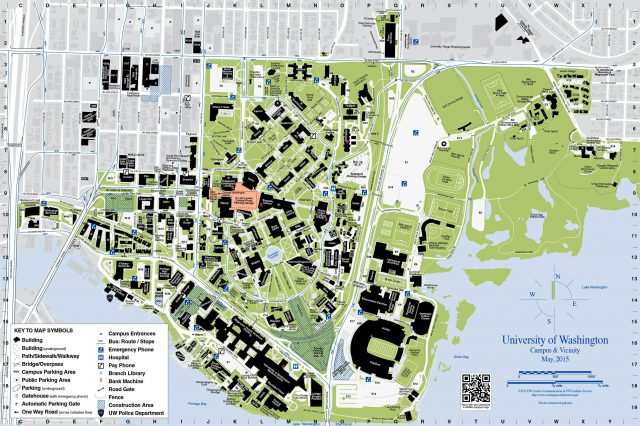 University Of Washington Map