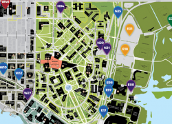 University Of Washington Map: University of washington map from transportation 2