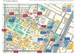 Usc Campus Map: Usc campus map from news 1