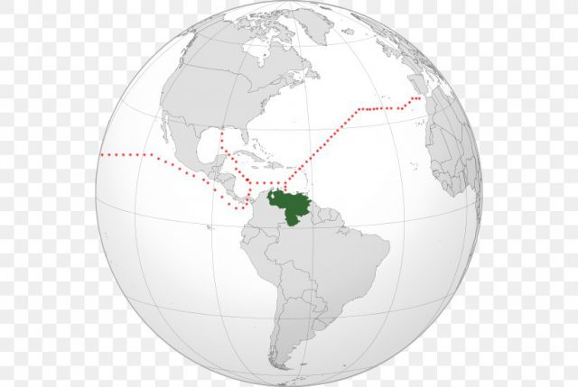 West Indies On World Map