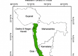 Western Ghats Map: Western ghats map from researchgate 1