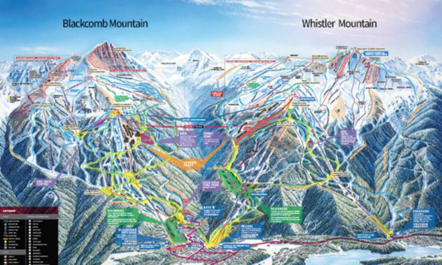 Whistler trail map from whistlerblackcomb 1