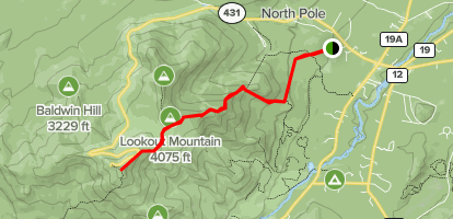 Whiteface mountain trail map from alltrails 1