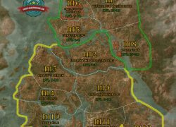 Witcher 3 Map: Witcher 3 map from guides 1