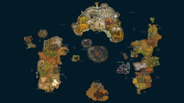 World of warcraft map from reddit 1