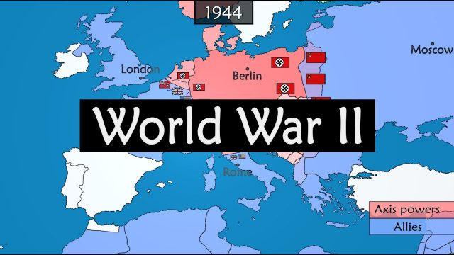 World war 2 map from youtube 1
