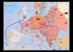 Ww2 Map Of Europe: Ww2 map of europe from youtube 1