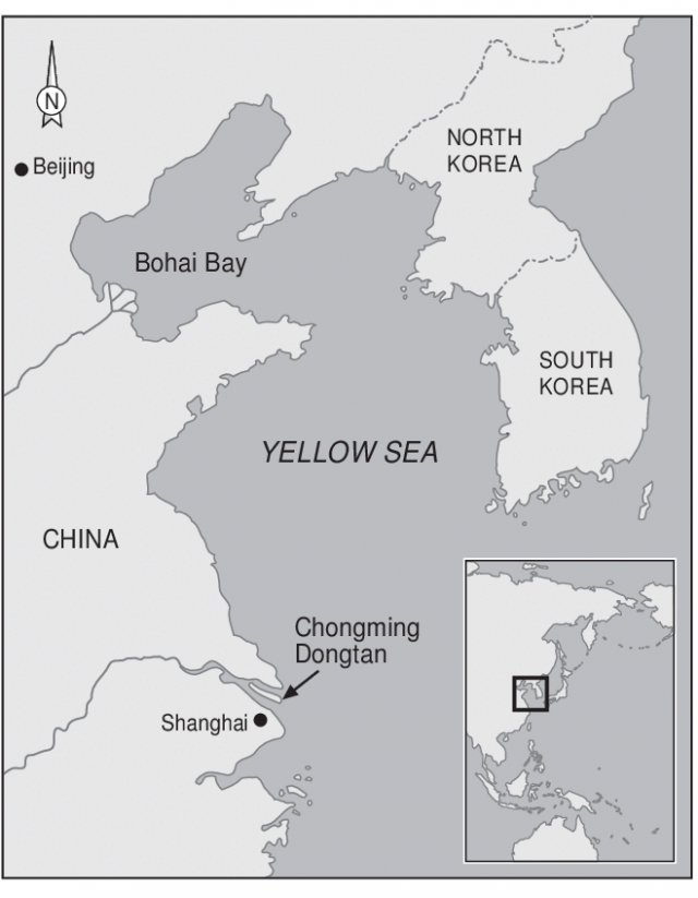 Yellow Sea Map