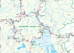 Yellowstone National Park Map: Yellowstone national park map from yellowstonepark 1