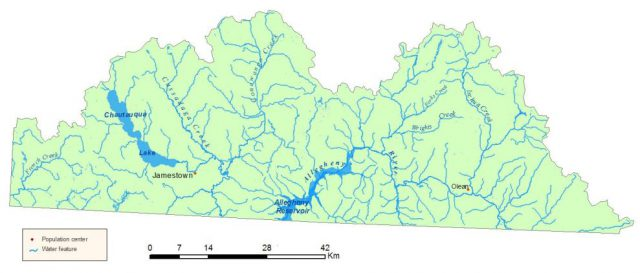 Allegheny River Map