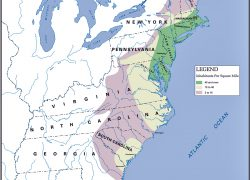 American colonies map from emersonkent 5