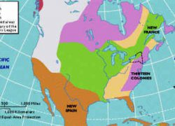 American colonies map from landofthebrave 8