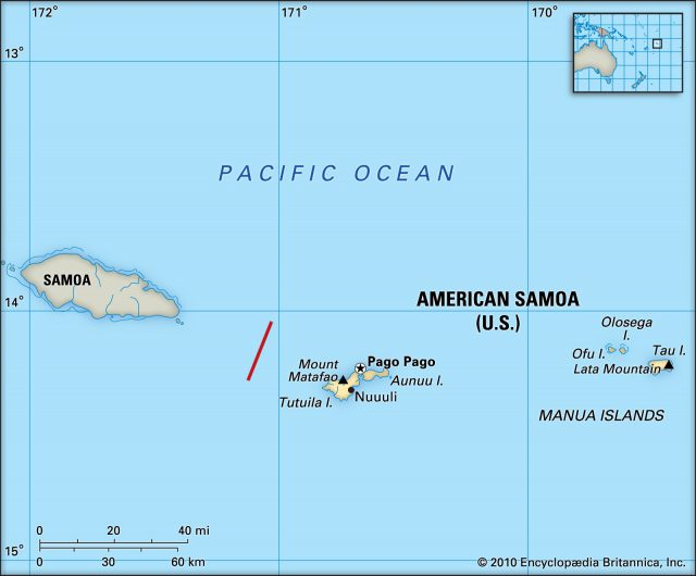 American samoa map from britannica 1