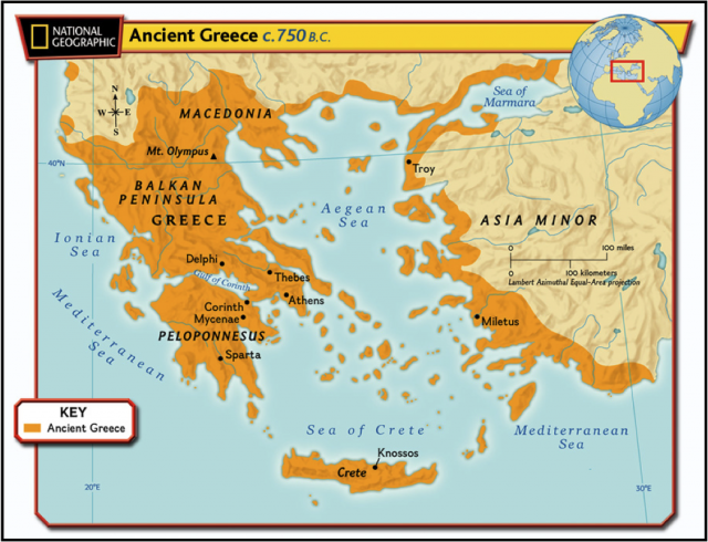 Ancient greece geography map from nsms6thgradesocialstudies 2