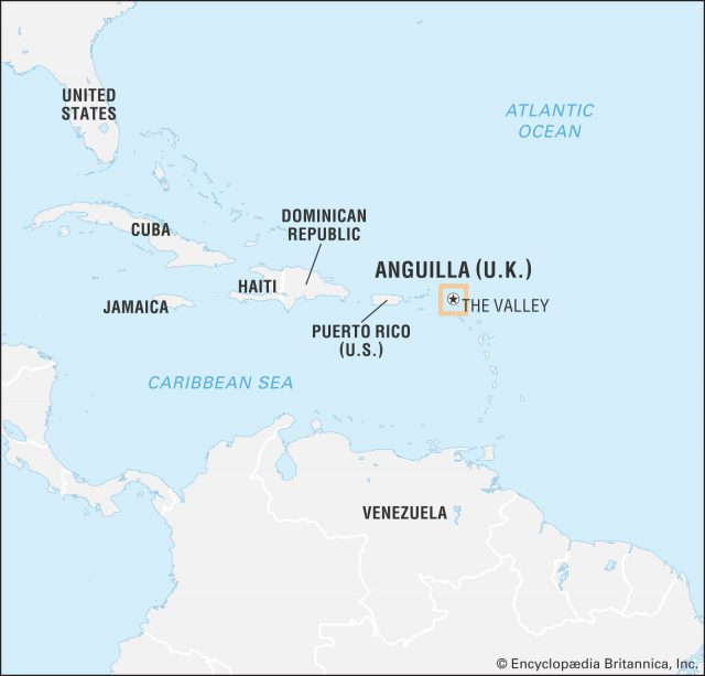 Anguilla Map