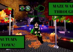 Autumn town maze map 2020 from youtube 5