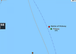 Battle Of Midway Map: Battle of midway map from omniatlas 1