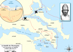 Battle of thermopylae map from blog 8