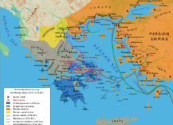 Battle of thermopylae map from en 10