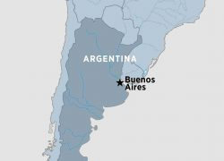 Buenos Aires Map: Buenos aires map from peregrineadventures 1