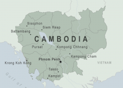 Cambodia Map: Cambodia map from wwwnc 1