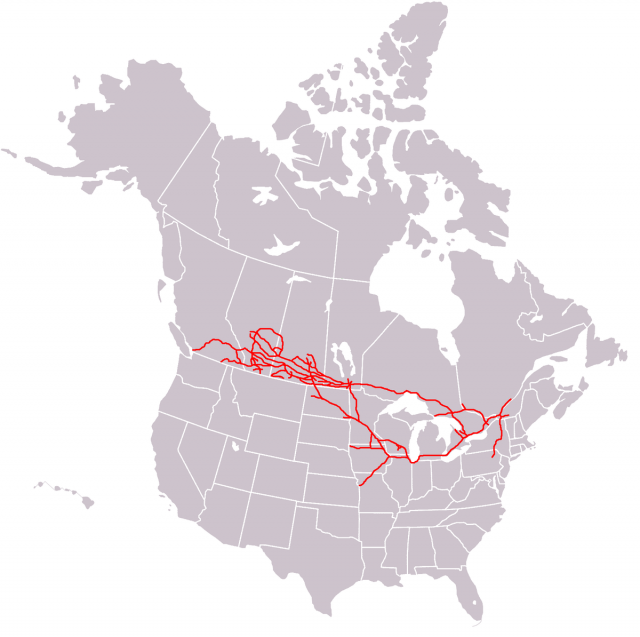 Canadian pacific railway map from en 1