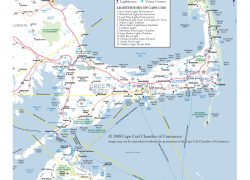 Cape Cod Map: Cape cod map from capecodchamber 1