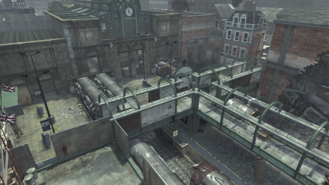 Cod mw subway map from ign 2