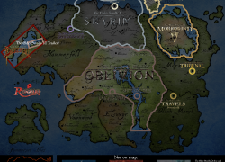 Elder Scrolls Map