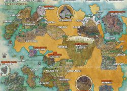 Elder Scrolls Online Map: Elder scrolls online map from pinterest 2