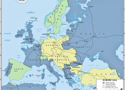 Europe map 1914 from emersonkent 8