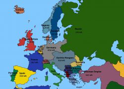 Europe map 1914 from reddit 4