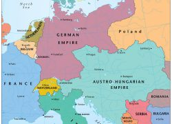 Europe map 1914 from themaparchive 3