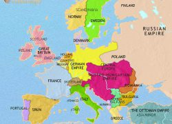 Europe map 1914 from timemaps 5