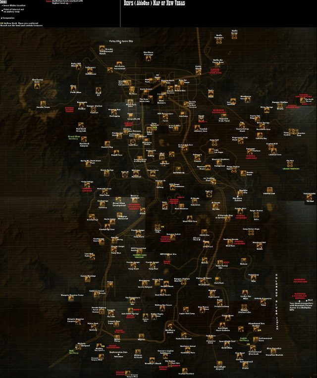 Fallout new vegas map from pinterest 4