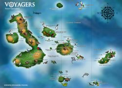 Galapagos map from voyagers 5