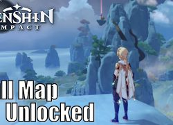 Genshin impact complete map from youtube 5