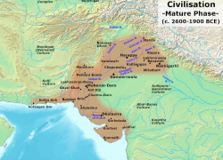 Indus Valley Map: Indus valley map from en 1