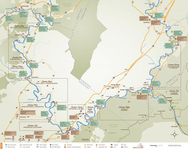 James river map from upperjamesriverwatertrail 1