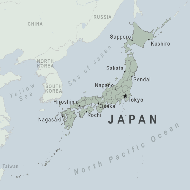 Japan map from wwwnc 1