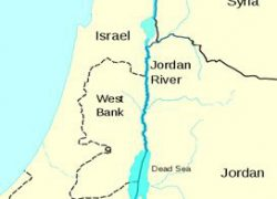 Jordan river map from brainly 9