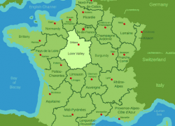 Loire river map from misstourist 10