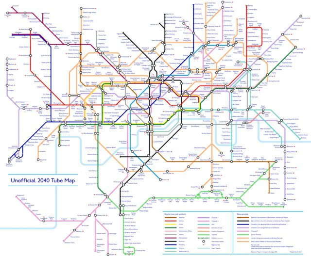 London Underground Map 2020