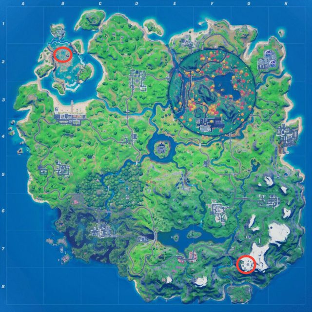 Lowest point on fortnite map from gamespot 1