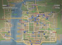 Mafia 2 Map: Mafia 2 map from modsmafia 1