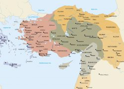 Map Of Asia Minor: Map of asia minor from luwianstudies 1